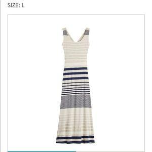 Gilli mitchel knit maxi dress
